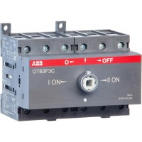 Рубильники реверсивные ABB серии OT...F3C (от 16A  до 125A)