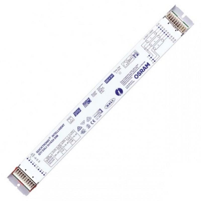 ЭПРА Osram QTi DALI 3x14/24 DIM диммируемый для люминесцентных ламп T5