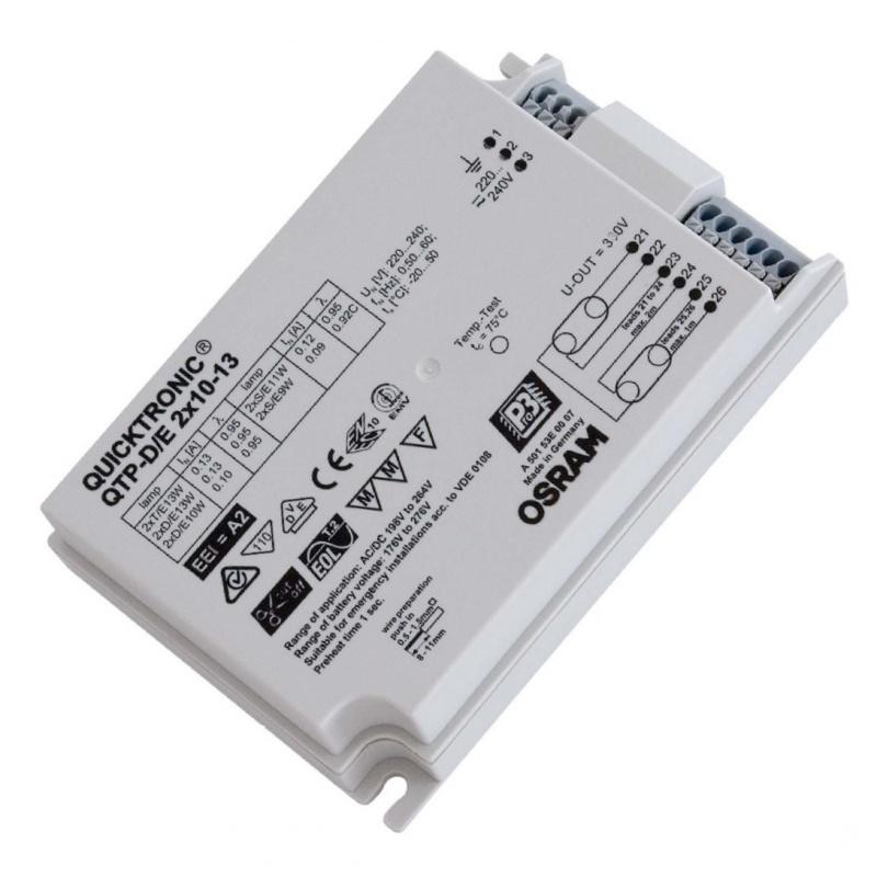 ЭПРА Osram QTP-D/E 2x10-13 для компактных люминесцентных ламп