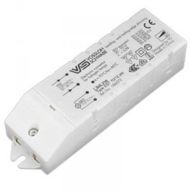 Трансформатор электронный Vossloh Schwabe 70W 220-12V для галогенных ламп