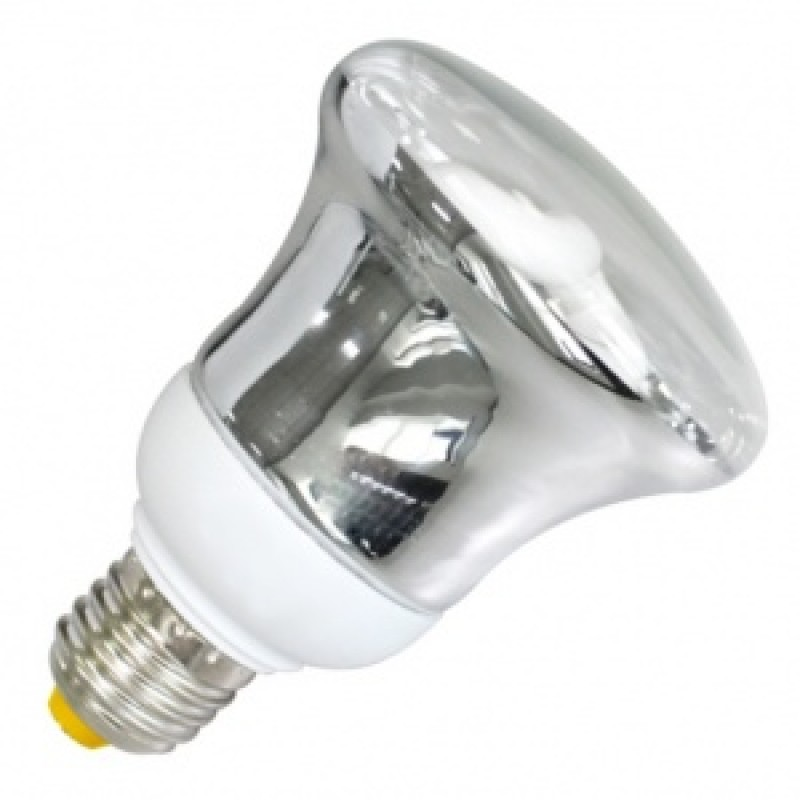 Лампа энергосберегающая R80 15W 4200K E27 белая, d80x122