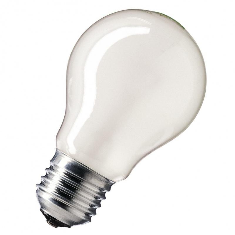 Лампа накаливания 40W E27 матовая