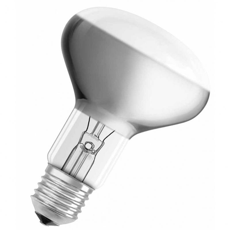 Лампа зеркальная Osram R80 75W E27