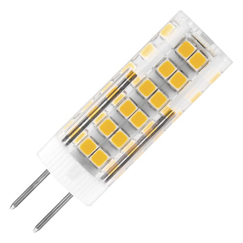 Лампа светодиодная капсула Feron LB-433 7W 2700K 220V G4 560lm 16x50mm теплый свет