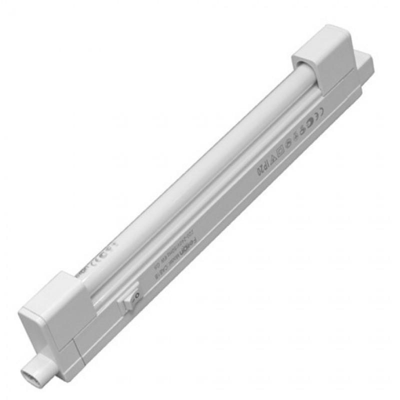 Светильник люминесцентный Feron T4 8W 6400K 380mm без рассеивателя