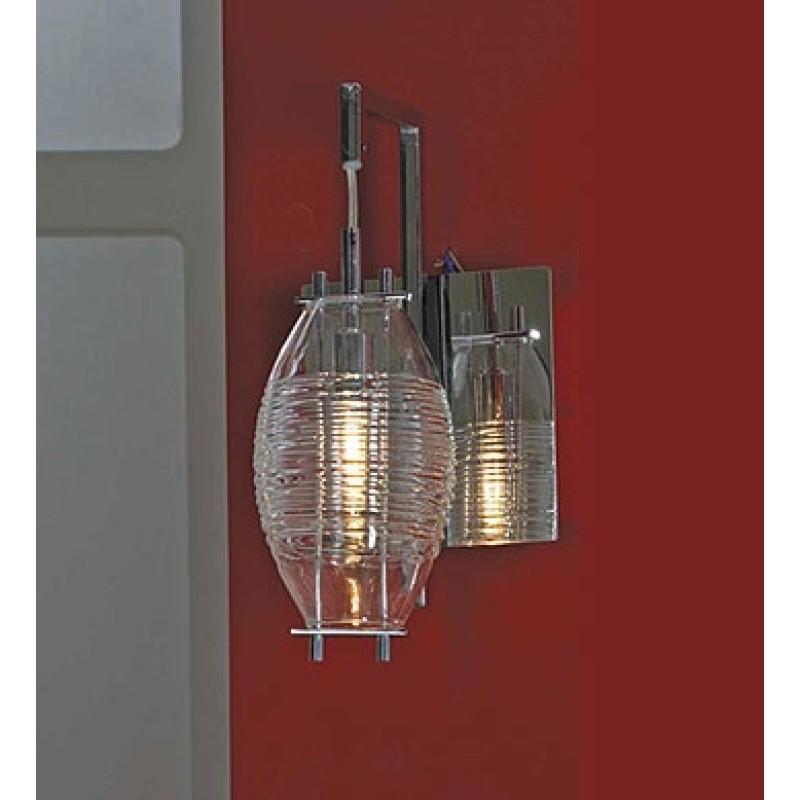 Светильник Lussole Acquasanta хром/стекло 1x40W G9