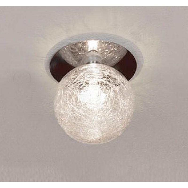 Светильник Lussole Ragnatela хром/стекло 1x20W G4