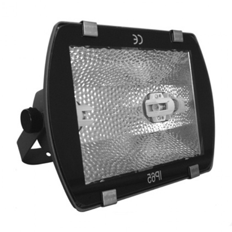 Прожектор металлогалогенный FL-2033 150W Rx7s IP65 симметричный серый