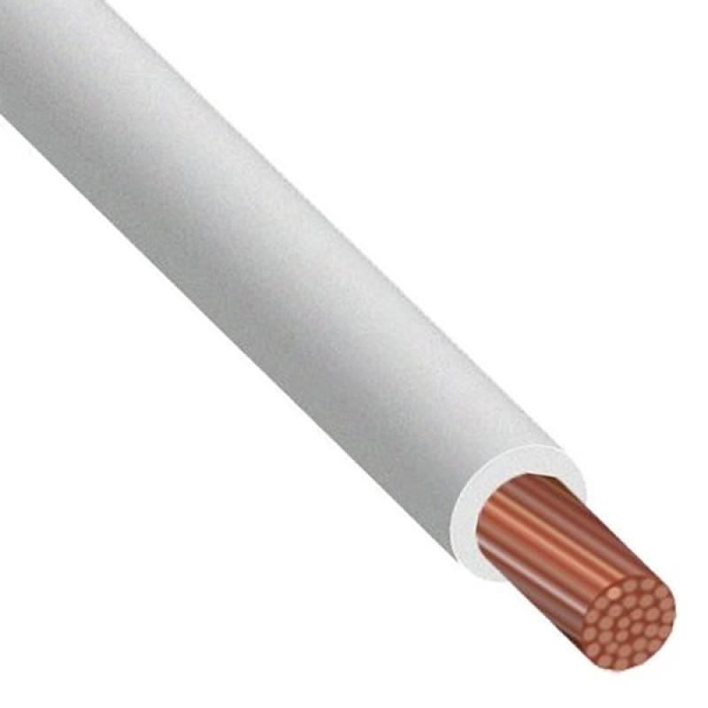 Провод силовой ПУГВ 1х1.5 белый многопроволочный ГОСТ Электрокабель Кольчугино